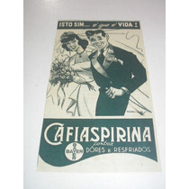 ( L - 290/ G) Propaganda Antiga Bayer Remédio Cafiaspirina