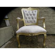 Poltrona Cadeira Amamentação, Decoração Luiz Xv Capitone