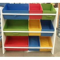 Organizador Caixa Bancada Gavetas Armario Infantil Brinquedo