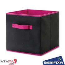 Caixa Organizadora Closet Armario 26x26x26 Cm Viva Utile