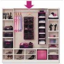 Organizador Closet Armários 8 Compartimentos