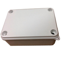 Kit Com 5 Caixa Hermetica 12x8x5 Em Pvc Com Vedação Externa