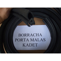 Kadett / Ipanema Borracha Tampa Porta Malas Mod Orig