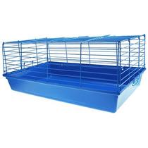 Gaiola Coelho Azul (60 Cm X 32 Cm X 26 Cm) - Melhor Preço