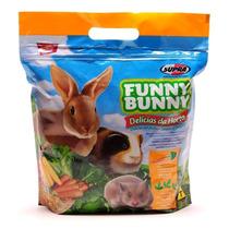 Ração Funny Bunny Promoção 12 Unid X 500g
