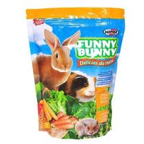 Funny Bunny 12x500g Ração Roedores Porquinho Da Índia Coelho