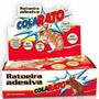 Raticida Adesiva Ratoeira Pega Rato Com 10 Armadilhas