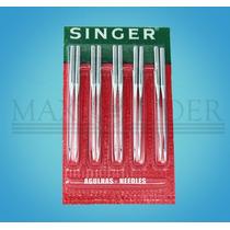 Agulha Industrial Singer 3355 Blister C/10 Peças Nº20