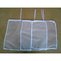 Saquinho Tule Maternidade - Pacote 3 Peças Med 35 X 40 Cm