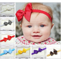 Tiara/ Faixa De Cabelo Importada Laço Bebê E Meninas