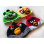 Touca Para Bebe Em Croche Do Jogo Angry Birds Todos Tamanhos
