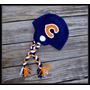 Touca Croche Futebol Americano Chicago Bears Todos Tamanhos