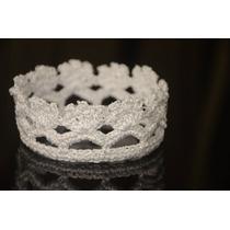 Coroa Em Crochet ( Acessórios Para Fotos Newborn)