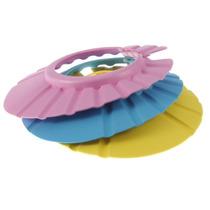 Chapéu Protetor Lavar Cabeça Bebes/ Crianças