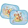 Protetor Solar Duplo P/ Carro. Disney Urso Pooh. Bebê Neném