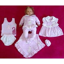 Kit Saída Maternidade Menina Rosa Sonho De Nenê