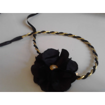 Acessorios De Cabelo: Headband Com Flor