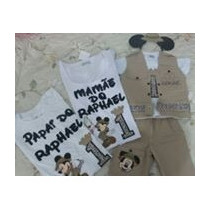 Camisetas Personalizadas Pai, Mãe E Conjunto Safari