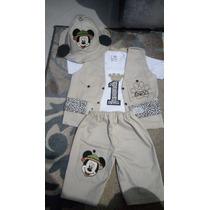 Fantasia Safari + Camiseta Pai, Mãe E Irmão ( Mickey Safari)