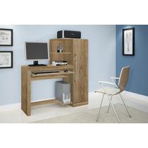 Escrivaninha Mesa Para Computador Canela - Frete Grátis.
