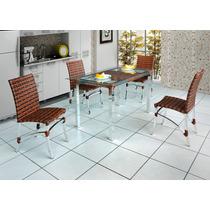 Cadeira,fibra Sintética,alumínio,arte Mobiliário,aréaexterna