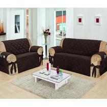 Protetor Para Sofá Conjunto De 2 E 3 Lugares