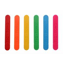 Abaixador De Lingua Colorido Pacote C/ 40 Unds - Agaplastic