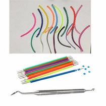 Borrachinhas Aparelho Ortodontico + Kit Trançada +aplicador