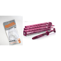Clareador Dental White Class 10% C/3 Un + Par Moldeiras