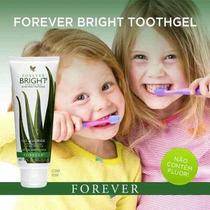 02 Creme Dental Forever Bright Toothgel - Frete Grátis