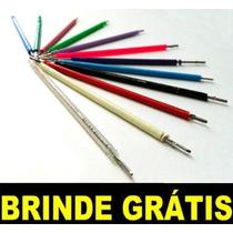 Kit 1.000 Borrachinhas Aparelho + Fio + Cera + Brinde