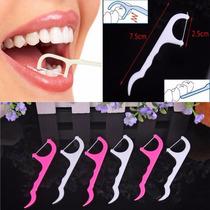 Dental Floss Higiene Bucal Pick Fio Flosser - 25 Unidades!