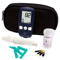 Aparelho Medidor Kit Glicose Diabete G-tech Free 1