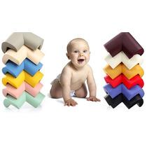 Protetor Quina Canto Mesa Cama Bebê Espuma / Kit 4 Unid.,