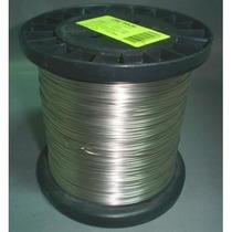 Fio De Aço Inox 0,90mm Carretel P/ Cerca Elétrica 400 Mts