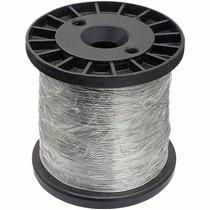 Arame Para Cerca Elétrica Residencial 0,45mm Aço Inox Bobina