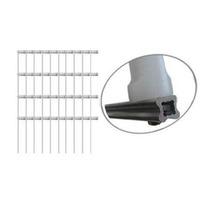 Kit 10 Hastes De Aluminio Estrela Cerca Eletrica 4 Isolador