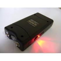 Máquina Aparelho De Choque E Lanterna Defesa Pessoal 18000kv