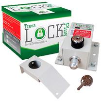Trava Elétrica Eletromagnética P/ Portão C/ Temporizado Ipec