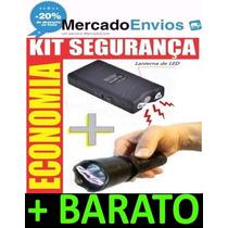 Kit De Segurança Defesa Pessoal Lanterna E Aparelho Choque