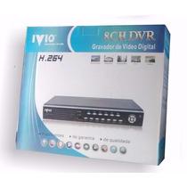 Dvr Ivio 8 Canais Mod. Iv-3008nh Vga/hdmi C/ Controle Remoto