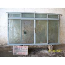 Janela/vitraux E Grade De Proteção C/ Vidros Fumê 4 Mmls