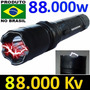 Arma Lanterna De Choque 88.000.000milhões Super Potente Teas