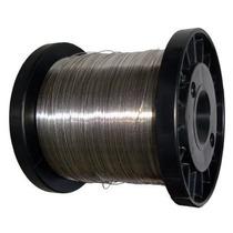Fio De Aço Inox 1,00mm P/ Cerca Rolo C/ Apx 160m