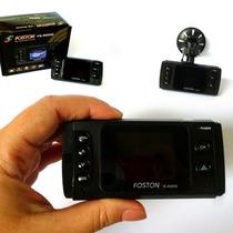 Câmera Mini Filmadora Veicular Foston Visão Noturna Cam