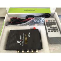 Receptor Antena Tv Digital Automotivo Conversor Tv P/ Carro