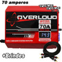 Fonte Overloud 70 Amper 12 14 Volts C/ Voltimetro + Brindes
