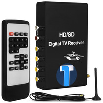 Receptor Antena Tv Digital Automotivo Conversor P/ Dvd Carro