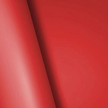 Adesivo Envelopamento Tuning Vermelho Fosco (0,65x1,00 Metro