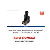 Conector Sensor Temperatura Palio Fire 1.0 1.3 16 Valvulas